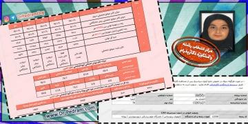 کیمیا احمدی نیار - رتبه 5071 کنکور 97 / رشته علوم تجربی